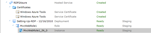 Select Windows Azure Role Instance for RDP
